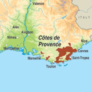 Le Coeur de la Presquile de St Tropez Ros 2016 The Sunday Times