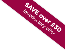 SAVE over £30 introductory offer