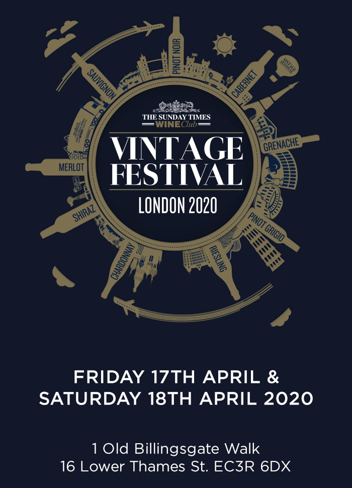 Best Wine Clubs 2020 Book your tickets for The Vintage Festival 2020 | The Sunday Times